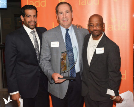 George H Rohde & Son Funeral Home was honored by Cincinnati nonprofit LADD