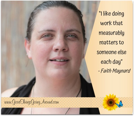 Faith Maynard is program manager of LADD's Community Connections