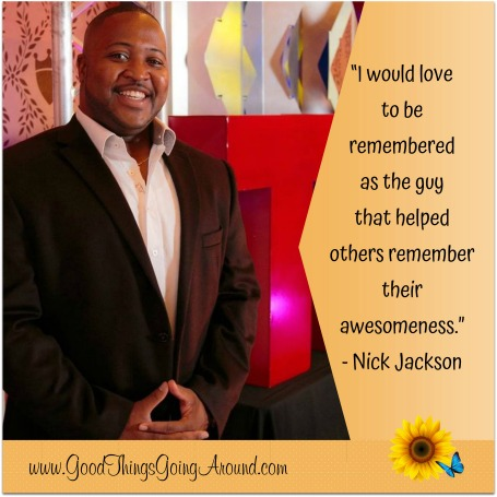 Nick Jackson inspires students through his speeches
