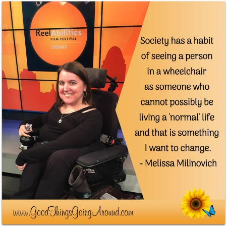Melissa Milinovich is 2005 Ms. Wheelchair Ohio and volunteers for the Cincinnati ReelAbilities Film Festival. In this interview, she shares some of her story.