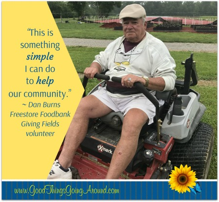 The Freestore Foodbank's The Giving Fields is a community farm that provides produce for Northern Kentucky food pantries with the help of over 2,400 volunteers.