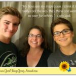 Lori Cook, marketing specialist at Countryside YMCA, shares how her inspiration comes from her sons.