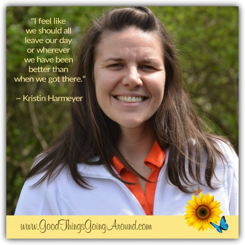 Celebrating World Kindness Day, Kristin Harmeyer shares what kindness means to her.