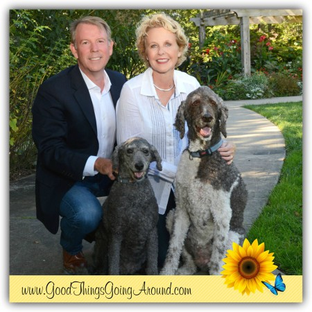 Kriss and Dan Barr wrote The Fido Factor - How To Get A Let Up At Work on leadership, that was inspired by their dogs